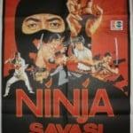 9 deaths of ninja poster-