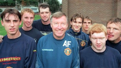 Alex Ferguson retires: the players that defined his Manchester United career - video
