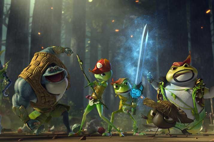 """""""Kurbağa Krallığı"""": Çocuklara Yönelik Bir Animasyon (!)"""