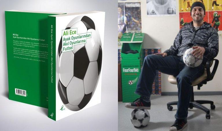 """Ali Ece: """"Okuduğum kitapların % 51'i futbol, kalan yarısı da müzikle ilgili."""""""