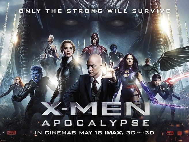 İnsanlığın Sonu: X-Men: Apocalypse