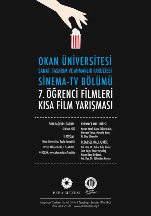 Okan Üniversitesi Öğrenci Filmleri Kısa Film Yarışması