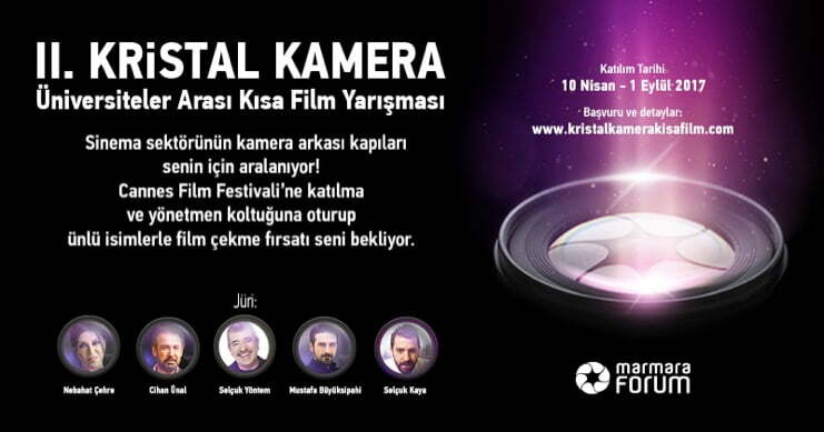 """Kristal Kamera"" bu yıl Selçuk Yöntem, Nebahat Çehre ve Cihan Ünal'a emanet"
